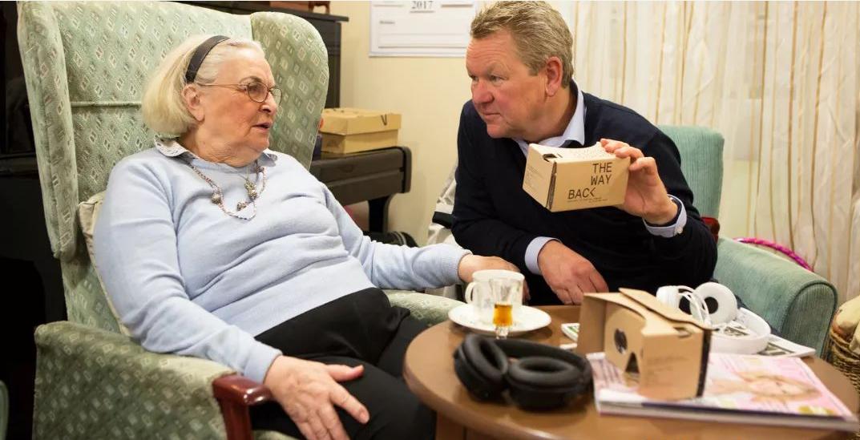 老年痴呆有救了!NHS欲使用VR治疗老年痴呆