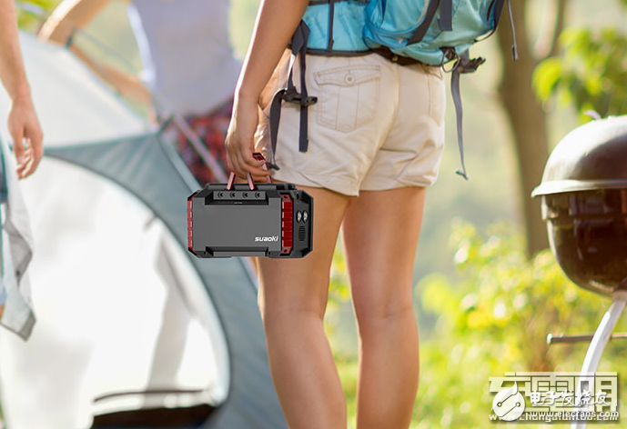 suaoki推出一款便携式储能移动电源,支持车充充电,并能够使用太阳能供电