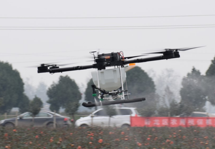 莱盛隆植保无人机助力农业发展,专为农业致富而生