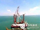 中铁大桥局福清兴化湾海上风电场一期项目完成