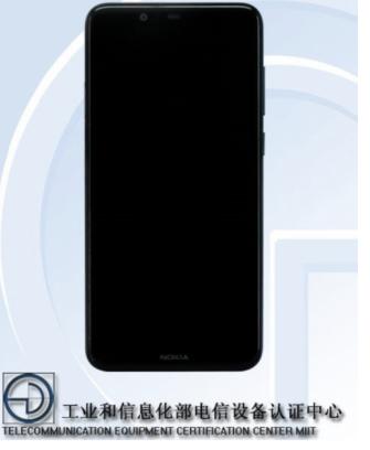 诺基亚再添新机X5:继续采用刘海屏,预装Android 8.1系统