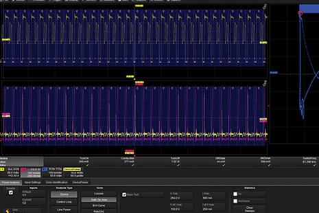 专用示波器和软件提高开发测试效率方案