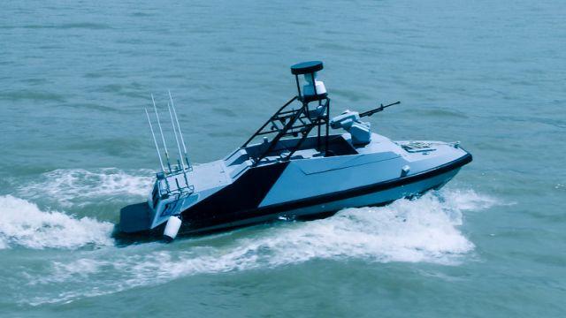 全球首艘500吨级小型无人货船下水 中国无人航行业的厚积薄发