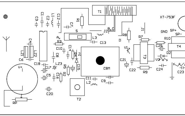 元器件面焊接原理图详细资料免费下载