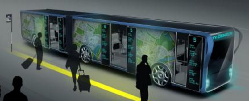 Apolong,全球首款Level4能力的自驾电动公车
