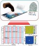 透明指纹传感器实现屏下指纹的新方法