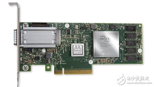 Mellanox网卡嵌入Xilinx FPGA,能实现网络功能提速