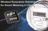 Silicon Labs推出高性能、超低功耗无线收发器,专门针对智能电表市场