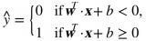 线性SVM分类器通过简单地计算决策函数