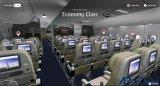 阿联酋航空使用VR让你在到达机场之前,可以先探索一下飞机的结构