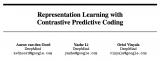 一种新的表示学习方法——对比预测编码