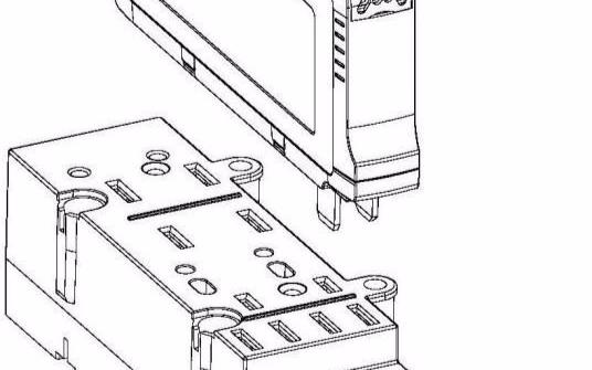 【新专利介绍】一种插拔式电能表的快拆构造