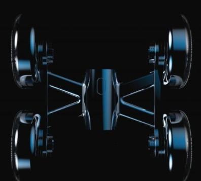 采用了四个涡轮风扇设计的无人机