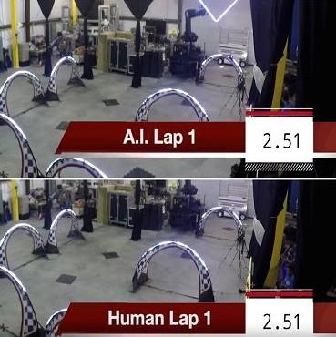 谁会是更好的无人机操作员,人类还是AI?