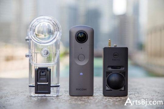 第五代THETA全景相机RICOH THETA V已发布,并支持4K拍摄,蓝牙传输