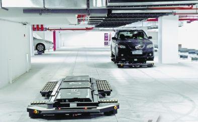 机器人打造的智能停车库,我国的停车难问题将得到有...