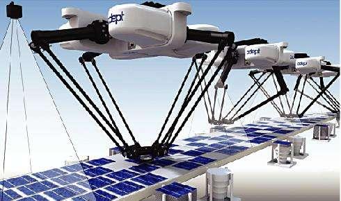 勃肯特,直驱并联机器人 颠覆减速机时代