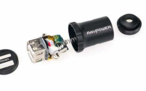 车载充电器什么牌子好?先看看RAVpower 24W车载充电器拆解测评结果
