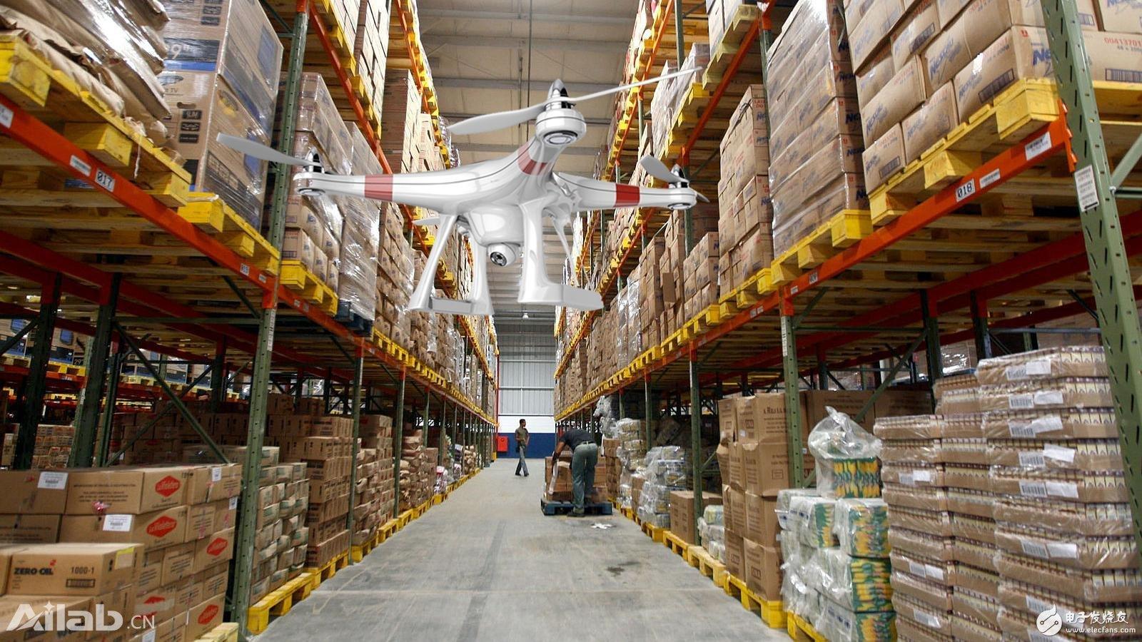 無人機送貨成潮流,先無人機結合RFID技術完成倉庫盤點