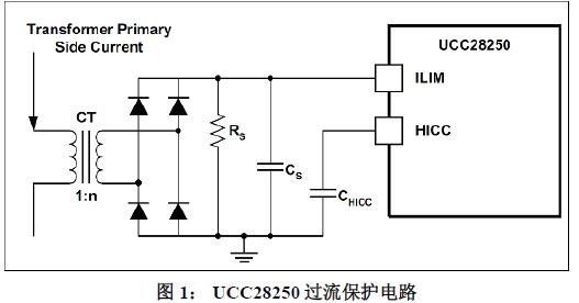 如何调整UCC28250打嗝重启时间和逐周期过流保护延迟时间的比例关系