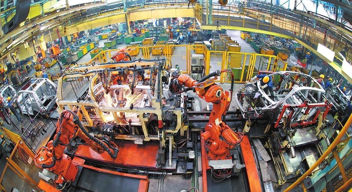 中国的崛起,制造业是中国经济的立足之本
