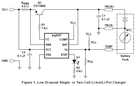 用于单、双电池锂离子和锂聚合物的先进线性电荷管理芯片数据手册