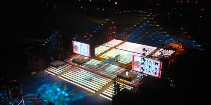 亿航1400架无人机西安升空,为我们带来了一场视觉盛宴