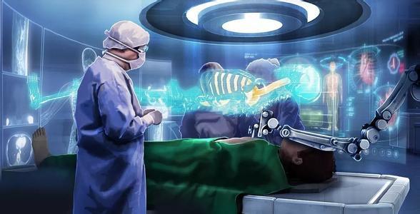 医院用VR眼镜让患者观看3D影片,舒缓患者的紧张情绪