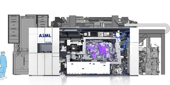 ASML公司Q2季度出货4台EUV光刻机,大陆市场营收比例达到19%