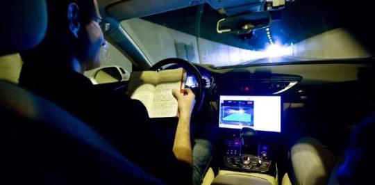 英特尔自动驾驶测试车失误,已第一时间修正