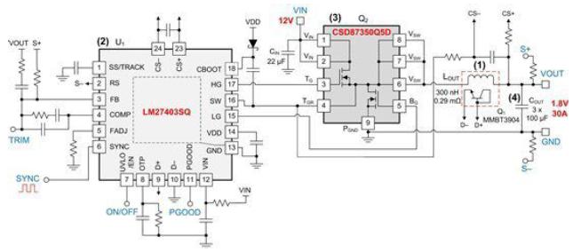 降压稳压器的效率及尺寸权衡的详细中文资料详细概述