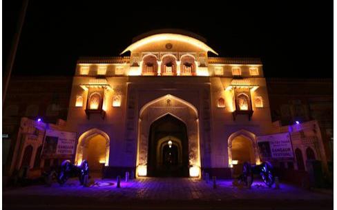 欧司朗利用创新照明技术修复遗址,印度古文化遗址再现辉煌