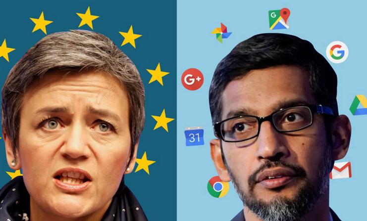 国民技术上半年净利预计下降至73% 欧盟要罚谷歌43亿欧元