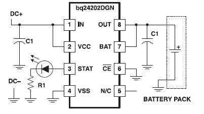 用于当前应用的单片锂离子充电管理芯片BQ2420X的数据手册免费下载