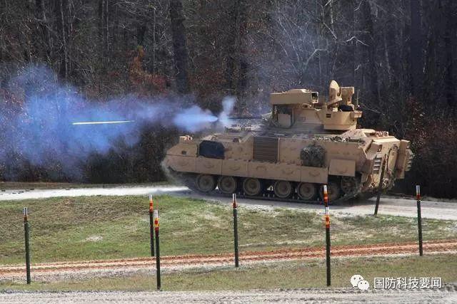 """美陆军""""布雷德利""""战车和NGCV的""""多功能""""传感器"""