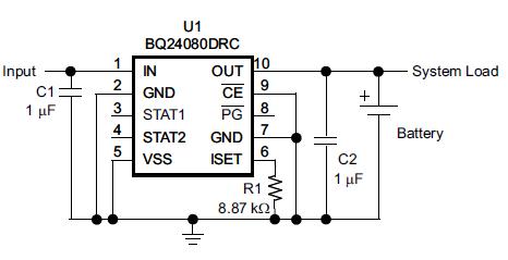 如何将单输入充电器IC扩展到双输入应用的方法详细资料概述