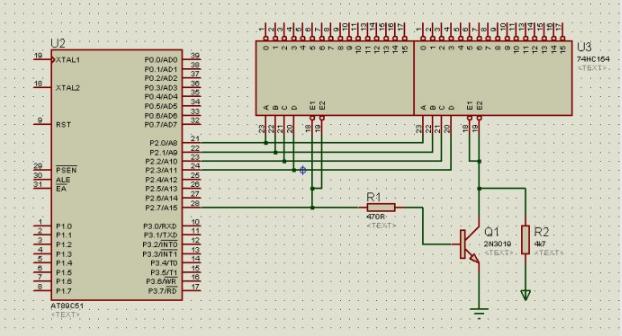 74hc154相反功能怎么实现?74HC154级联怎么做?