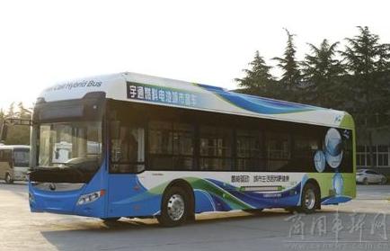 比亚迪联手美国混合动力,共同研发氢燃料电池客车