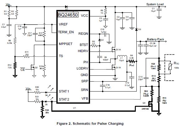 如何修改BQ24650从太阳能电池板收取密封铅酸电池的详细资料概述