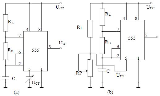 晶体振荡器和谐振器的区别 555压控振荡器电路图