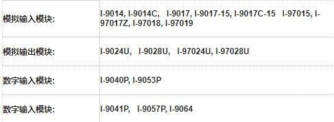 了解I-9K与I-97K系列I/O扩充模块性能与...