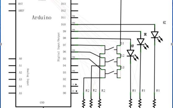 如何使用LED和按键开关等编辑抢答器的详细资料概述