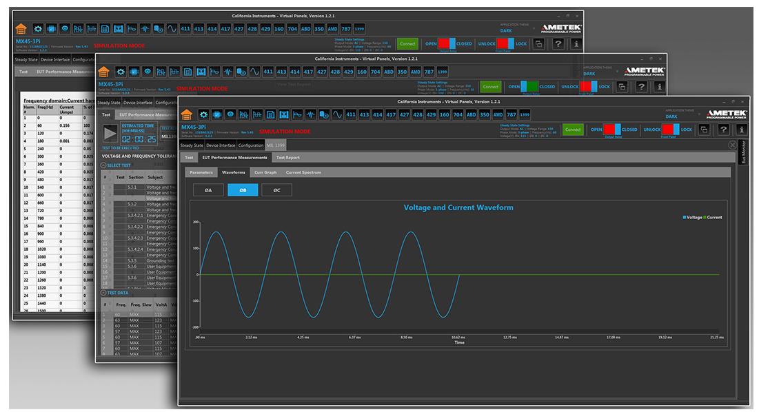AMETEK程控电源部发布舰载动力测试软件选件