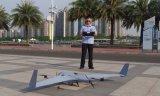 ZT-3V复合翼无人机对广州塔附近进行了城市日常安防巡检任务