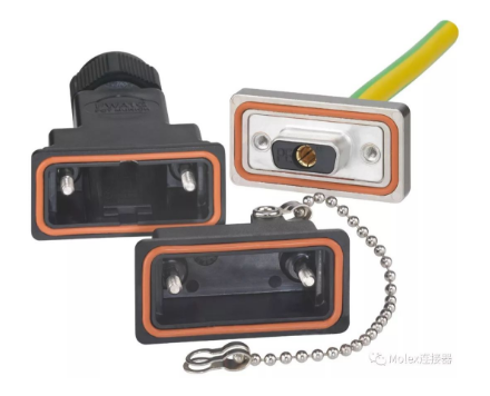 D-Sub形状系数的接地连接器,是Molex专门针对恶劣环境而设计的