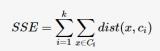 基本的k-means算法流程