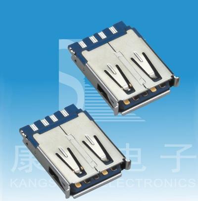 航空电子推出车用USB3.0连接器,实现了USB3.0标准的5Gbps传输速度