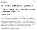"""机器学习模型的""""可解释性""""的概念及其重要意义"""