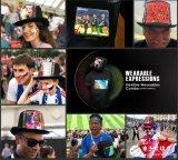 全球第一款高清柔性屏时尚衣帽 中国黑科技柔性屏时装抢镜世界杯决赛