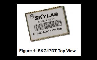 GNSS模块SKG17DT详细英文原版数据手册免费下载
